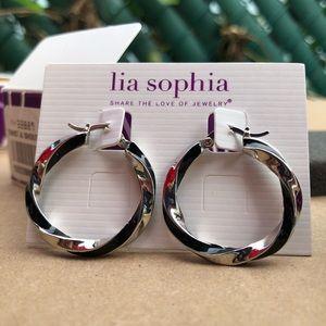 """Lia Sophia """"Twist & Shout"""" earrings"""